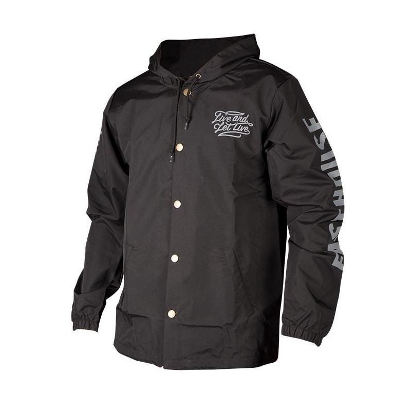 FASTHOUSE JACKET REBEL BLACK