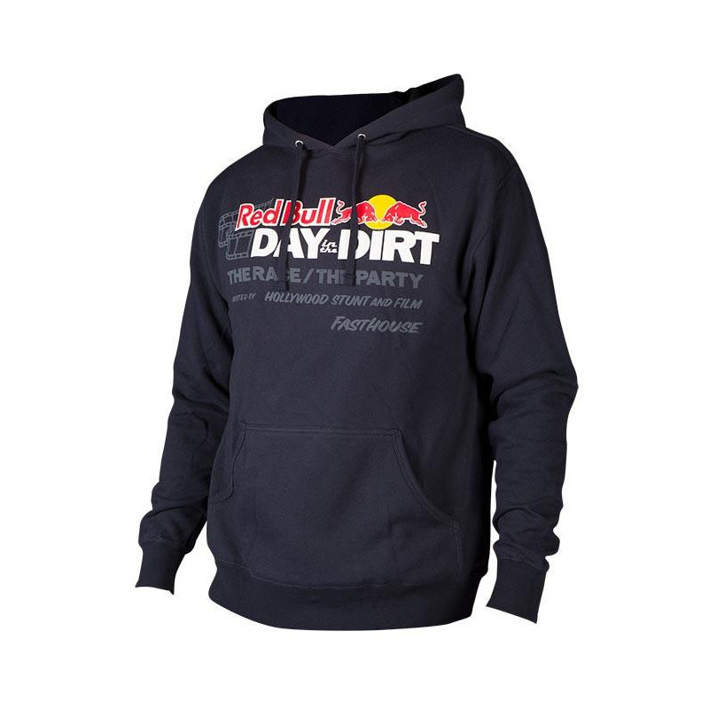 FASTHOUSE PULLOVER HOODIE REDBULL DAYDIRT 19