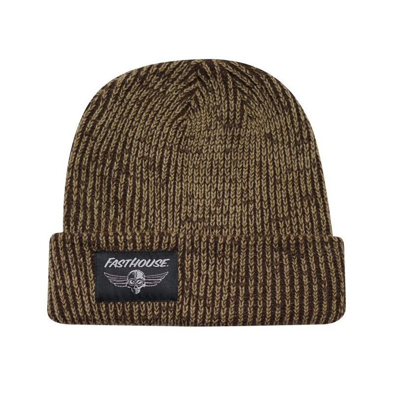 FASTHOUSE BEANIE OG RIBBED BROWN