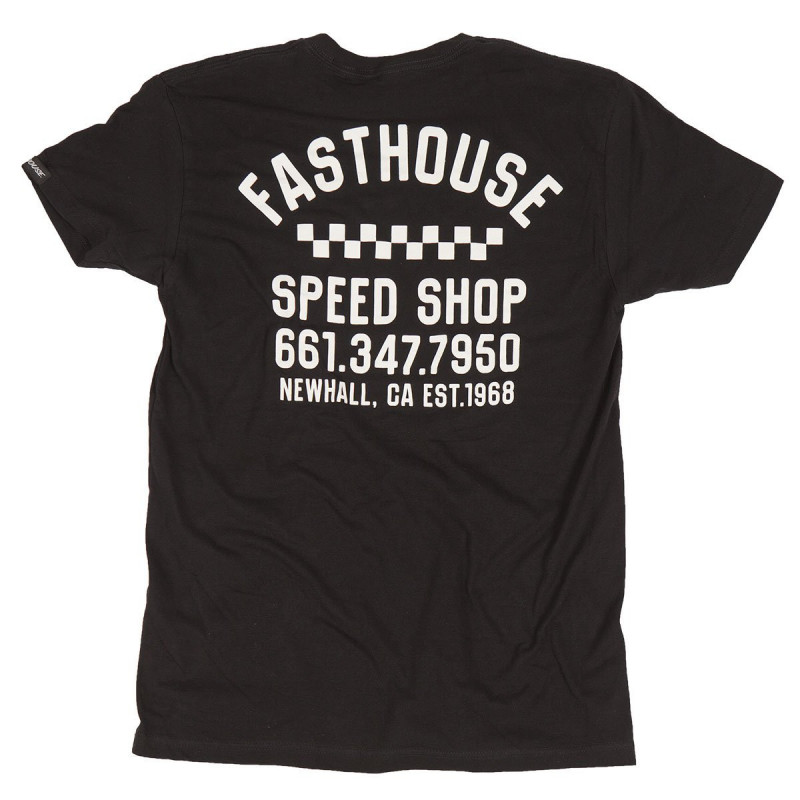 FASTHOUSE SHIRT SERVICE BLACK