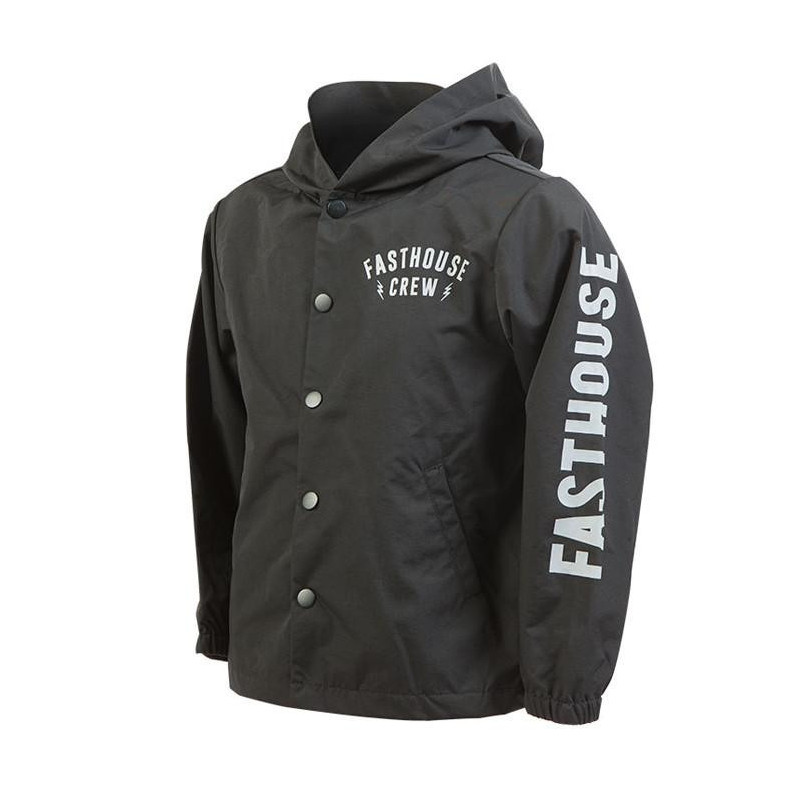 FASTHOUSE JACKET FAST TEAM YOUTH BLACK