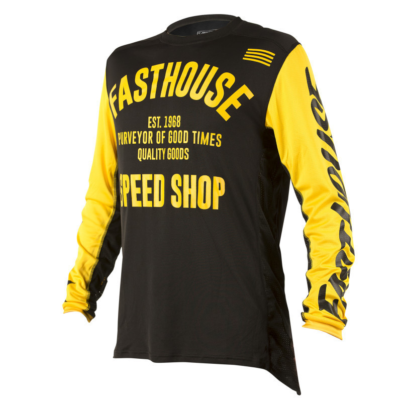 FASTHOUSE JERSEY CLASSIC YELLOW
