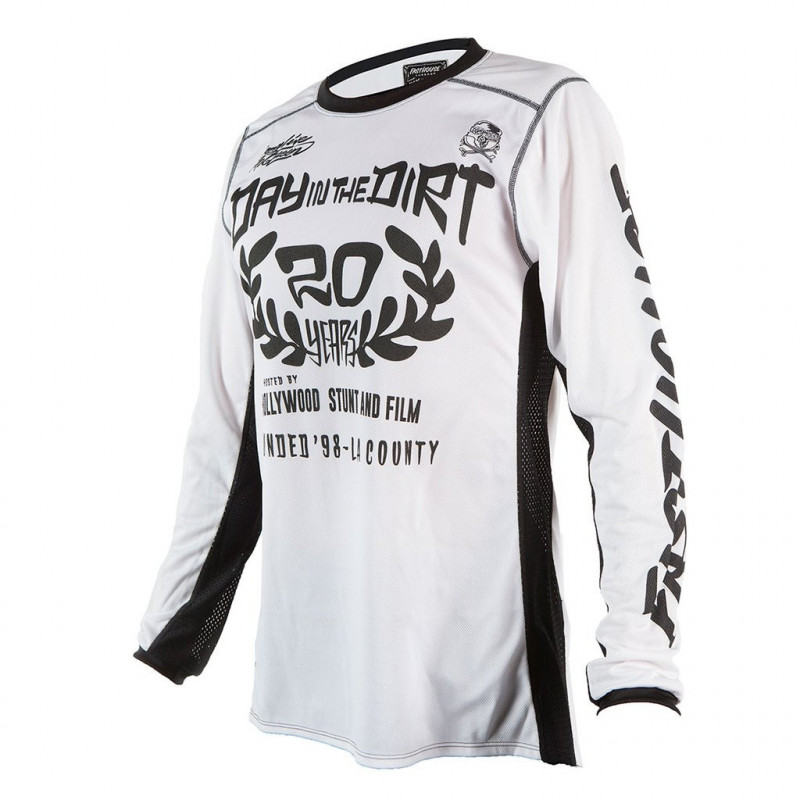 FASTHOUSE JERSEY DITD20 WHITE