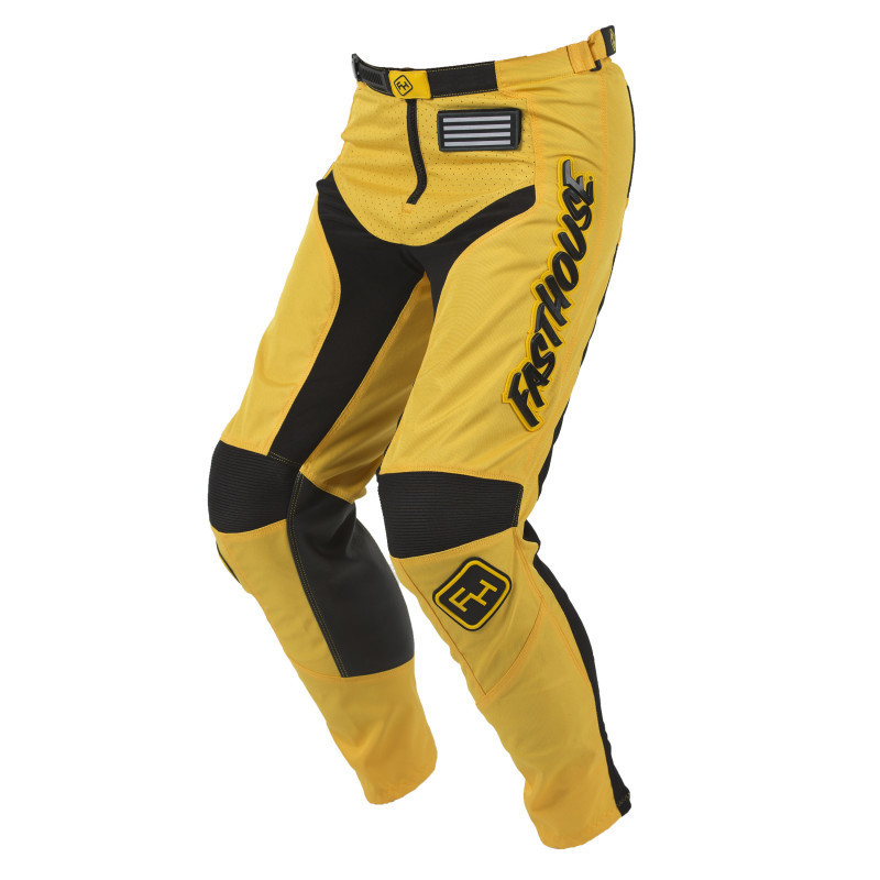 FASTHOUSE PANT GRINDHOUSE YELLOW