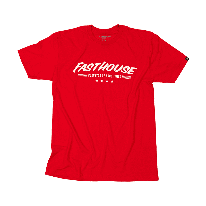 FASTHOUSE SHIRT FOUR STAR RED