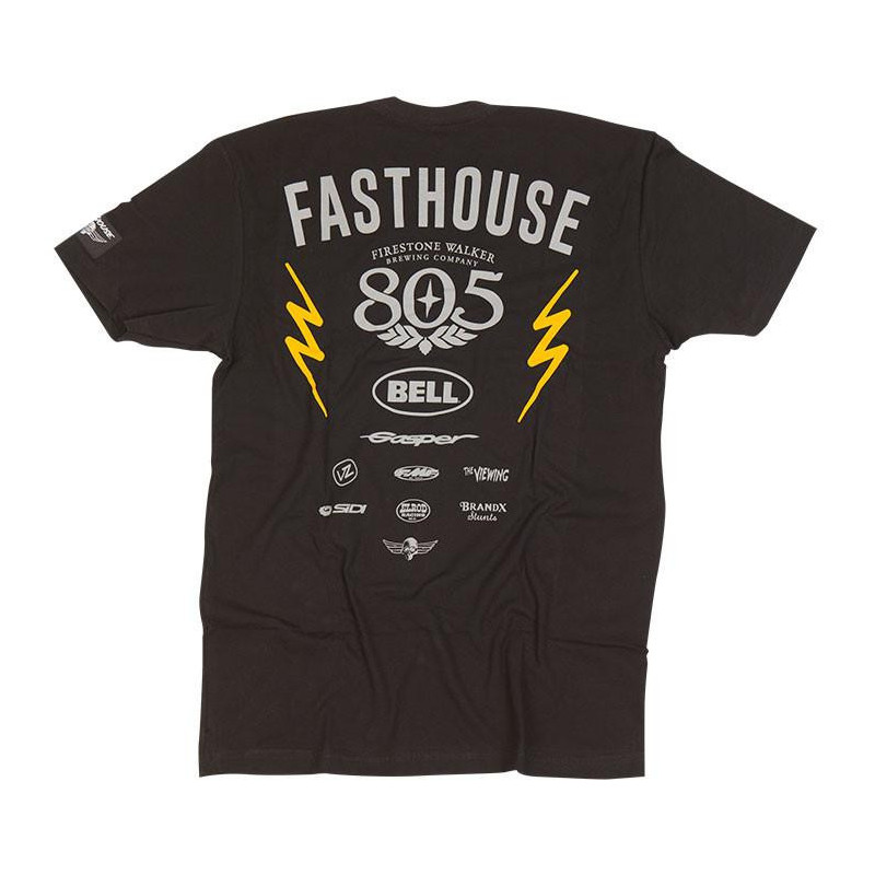 FASHTOUSE SHIRT FAST TEAM BLACK