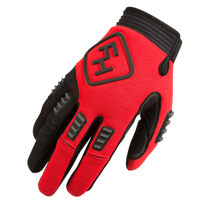 FASTHOUSE GLOVES DIESEL RED