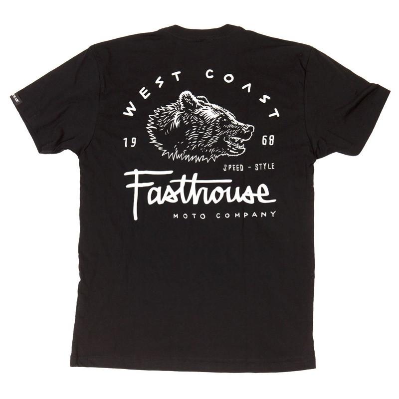 FASTHOUSE SHIRT WEST COAST BLACK