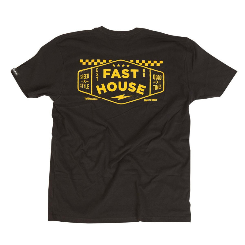 FASTHOUSE SHIRT STATION BLACK