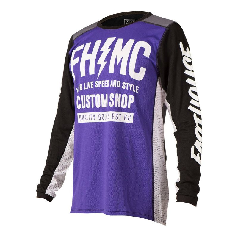 FASTHOUSE JERSEY LONGLIVE MC PURPLE