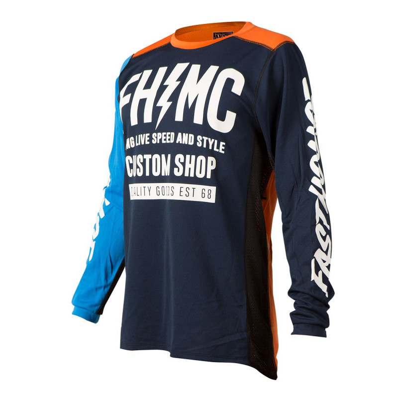 FASTHOUSE JERSEY LONGLIVE MC BLUE ORANGE