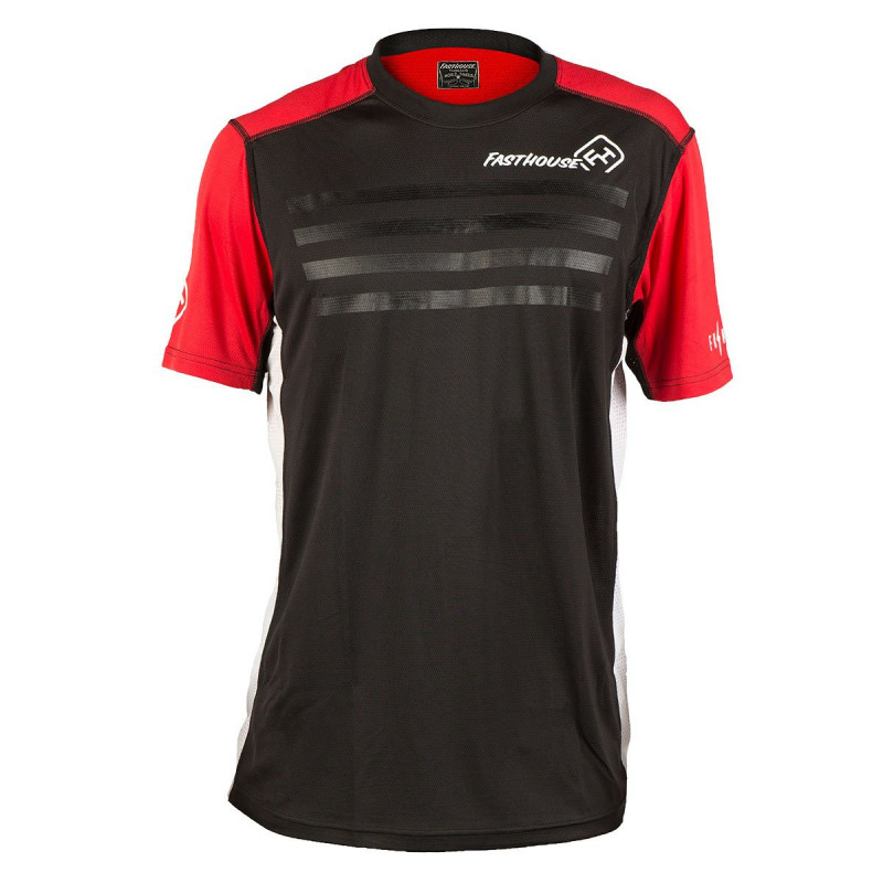 FASTHOUSE BIKE JERSEY FASTLINE STRIPES RED