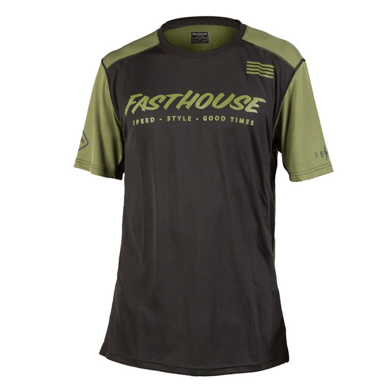 FASTHOUSE BIKE JERSEY FASTLINE CLASSIC OLIVE