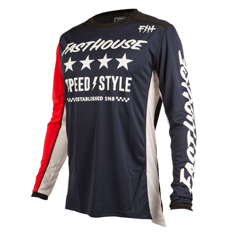 FASTHOUSE JERSEY ALPHA NAVY