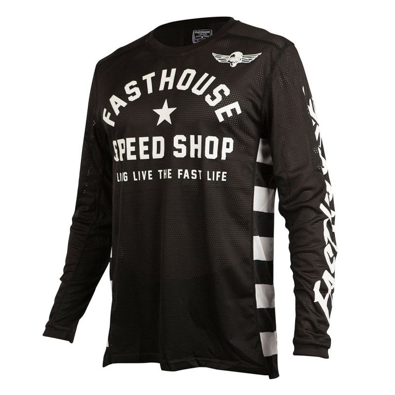 FASTHOUSE JERSEY ORIGINAL AIR COOLED BLACK