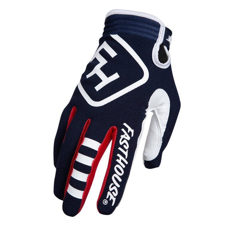FASTHOUSE GLOVES SPEEDSTYLE PATRIOT NAVY