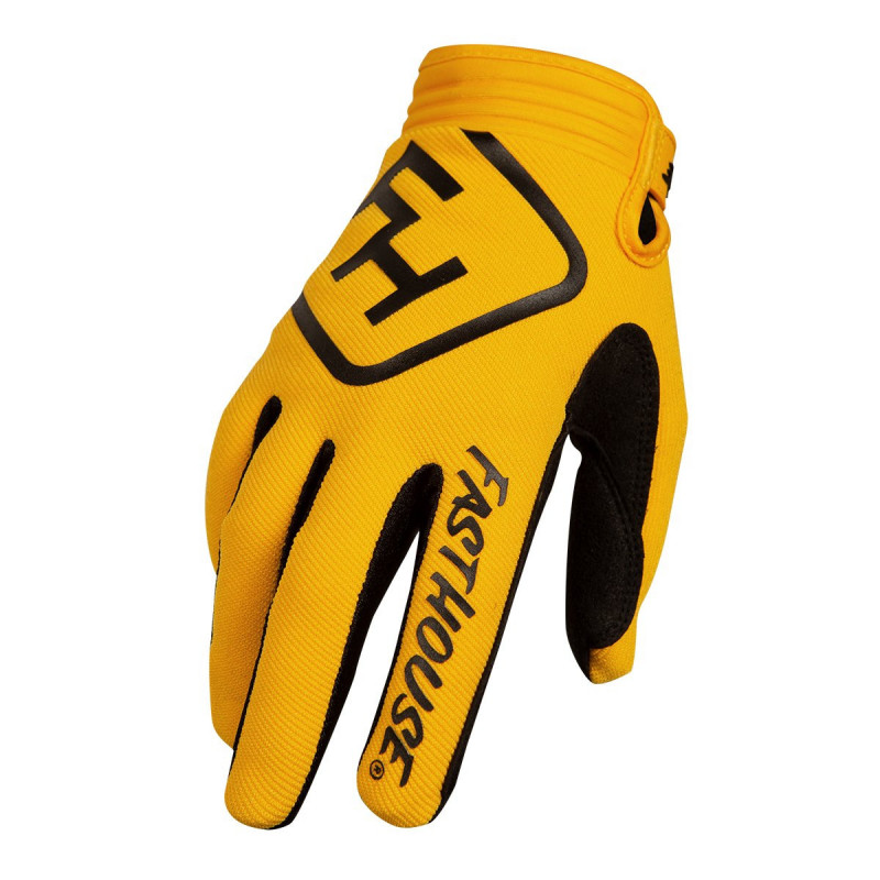 FASTHOUSE GLOVES SPEEDSTYLE SOLID YELLOW