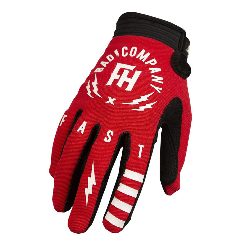 FASTHOUSE GLOVES SPEEDSTYLE BADCO RED