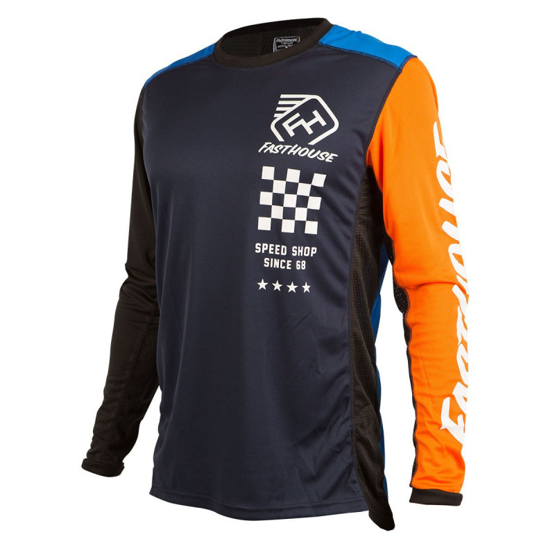 FASTHOUSE JERSEY ICON BLUE ORANGE