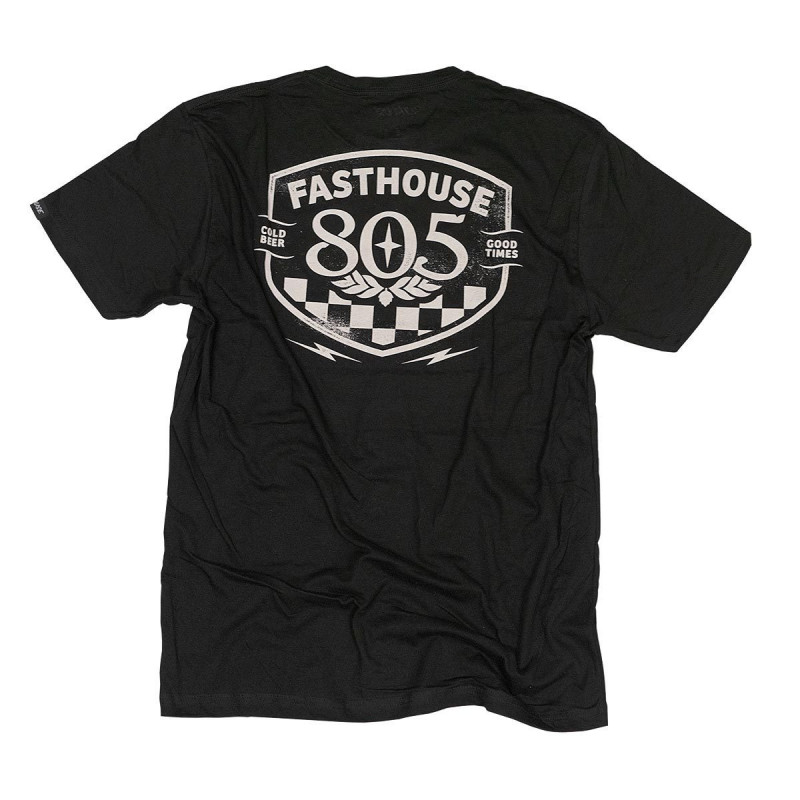 FASTHOUSE SHIRT 805 PITSTOP BLACK