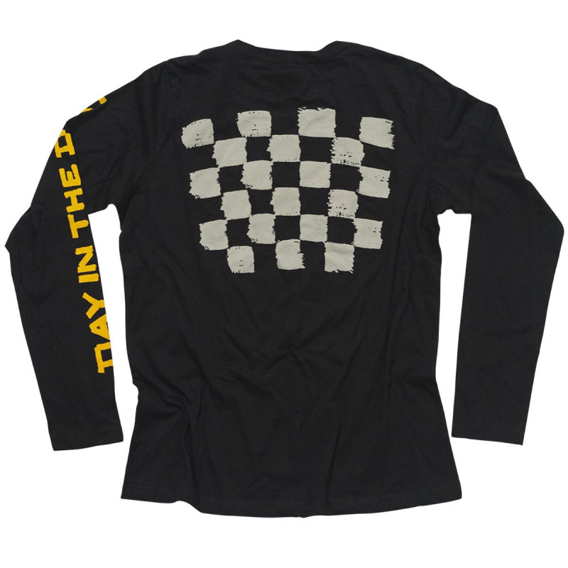 FASTHOUSE SHIRT DITD DIRTY RACING BLACK
