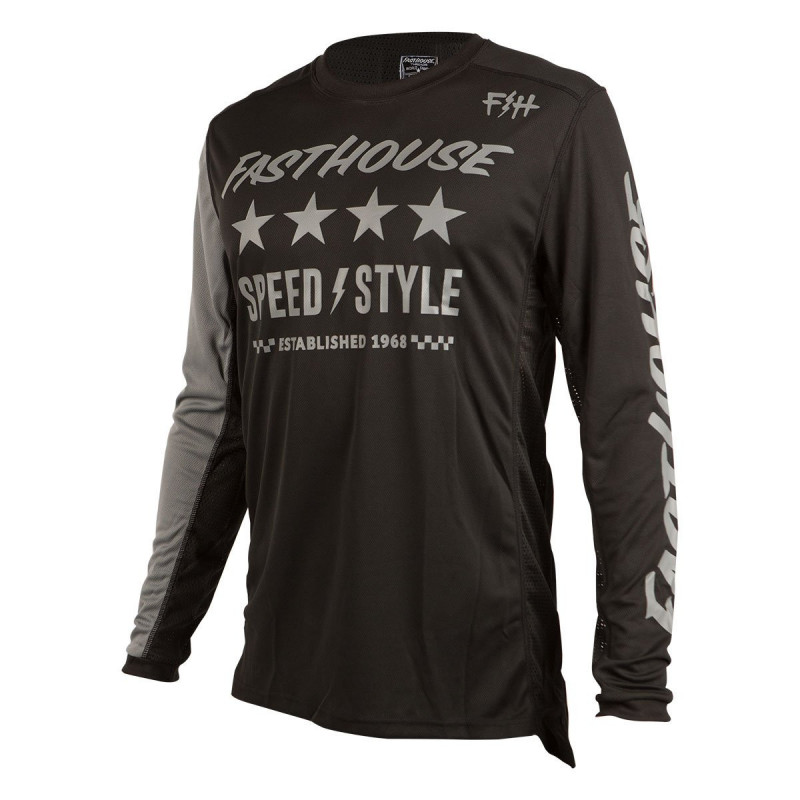 FASTHOUSE JERSEY ALPHA L1 BLACK
