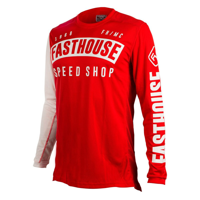 FASTHOUSE JERSEY BLOCK L1 RED