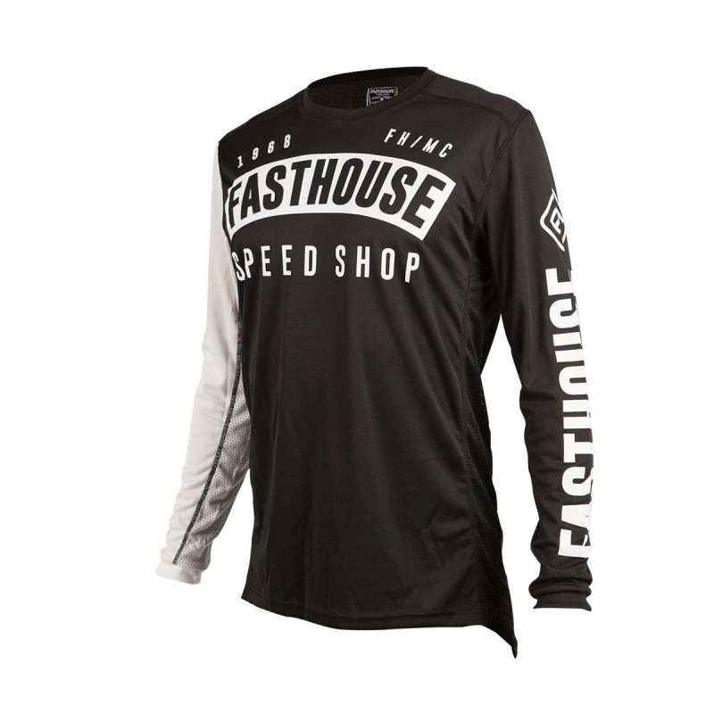 FASTHOUSE JERSEY BLOCK L1 BLACK YOUTH