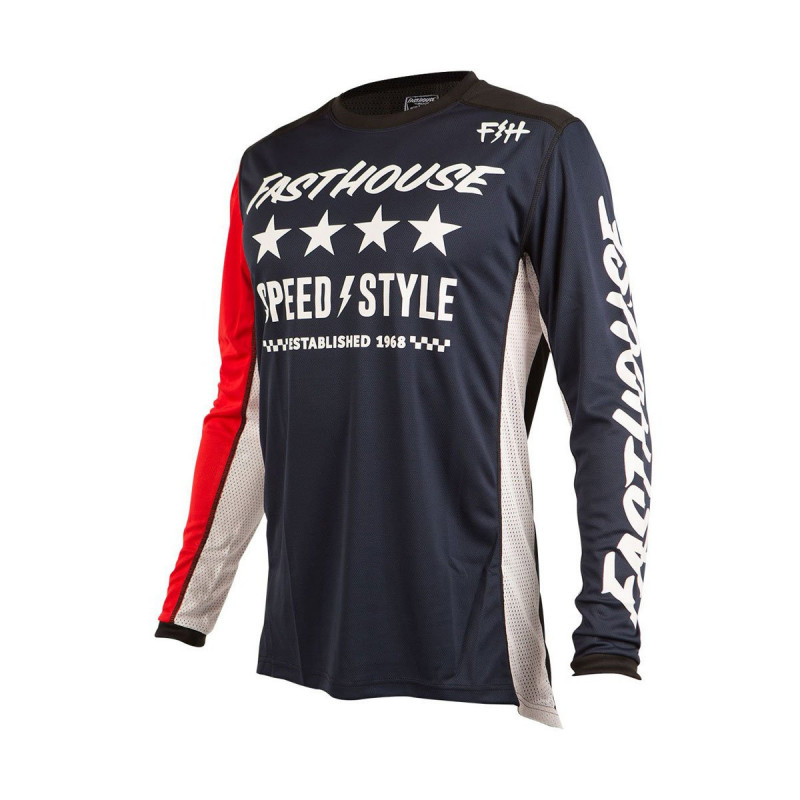 FASTHOUSE JERSEY BLOCK L1 NAVY YOUTH