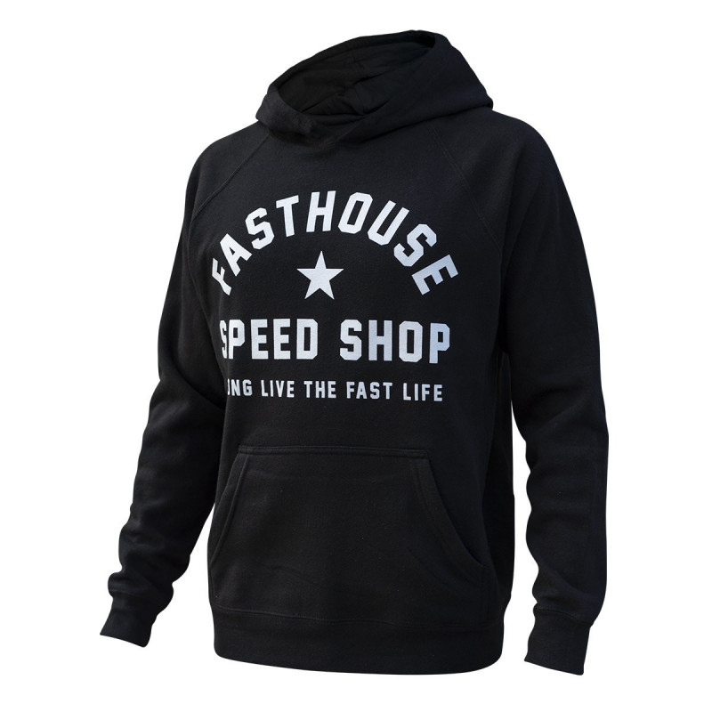 FASTHOUSE HOODIE TOO EASY BLACK