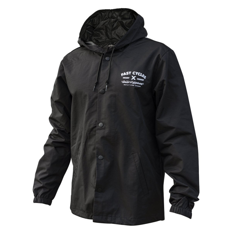 FASTHOUSE JACKET BREAKER BONEYARD BLACK
