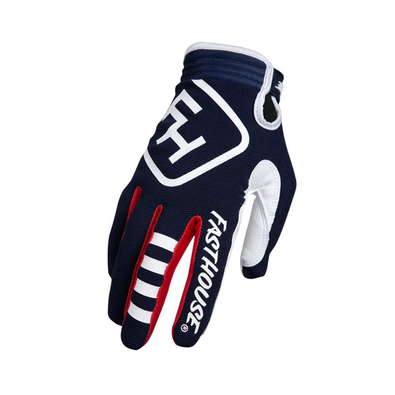 FASTHOUSE GLOVES SPEEDSTYLE PATRIOT NAVY YOUTH