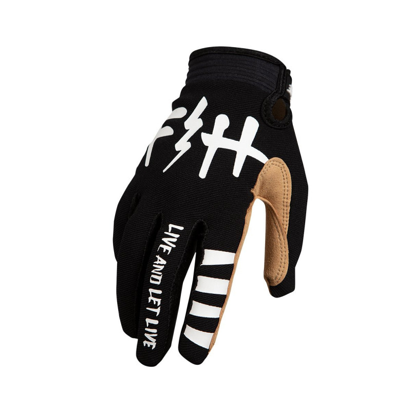FASTHOUSE GLOVES SPEEDSTYLE LETLIVE BLACK YOUTH