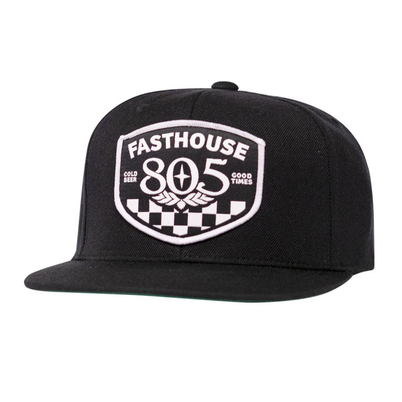 FASTHOUSE HAT 805 PITSTOP BLACK