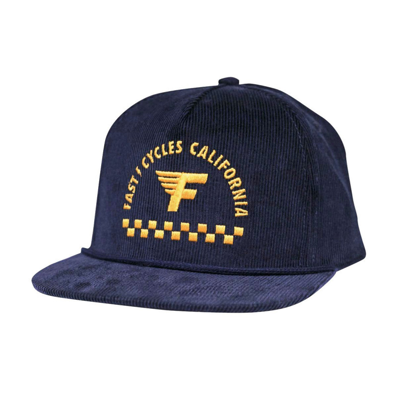 FASTHOUSE HAT FAST CYCLE NAVY