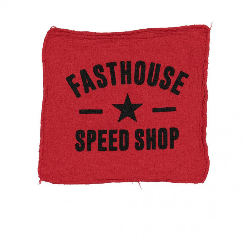 FASTHOUSE SHOP TOWEL RED