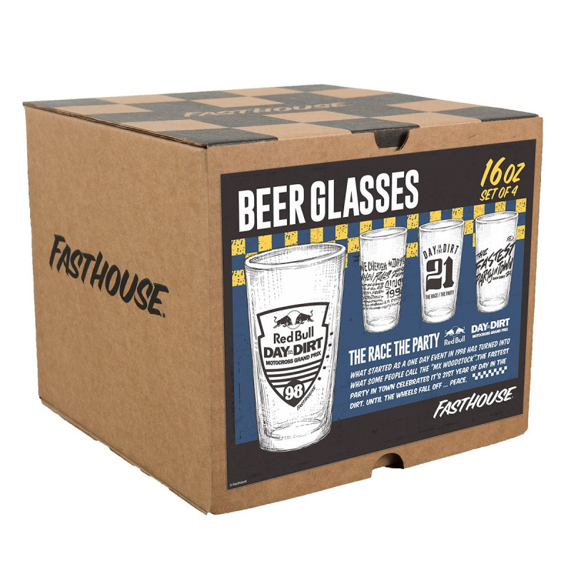 FASTHOUSE GLASSES DITD 21 YEARS BOX