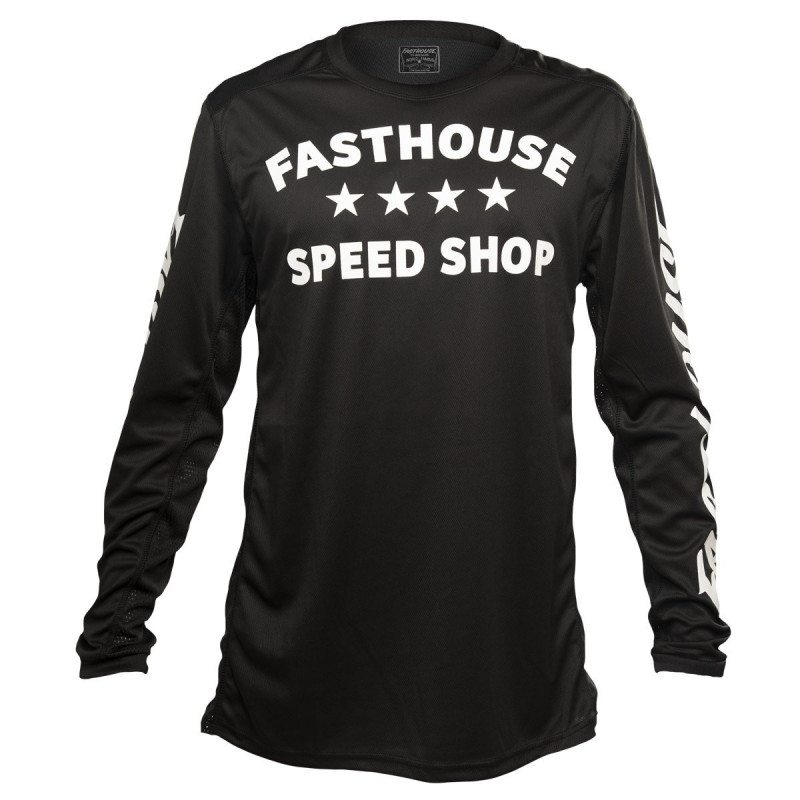 FASTHOUSE BIKE JERSEY DROPPER BLACK