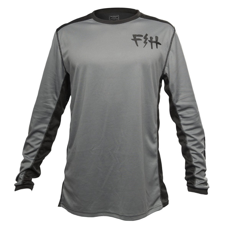 FASTHOUSE BIKE JERSEY FAST BOLT GREY