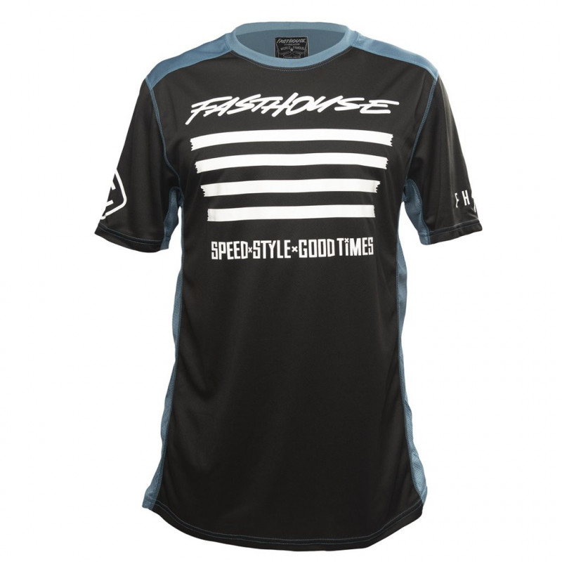 FASTHOUSE BIKE JERSEY FASTLINE SLASH SHORT SLEEVE BLACK