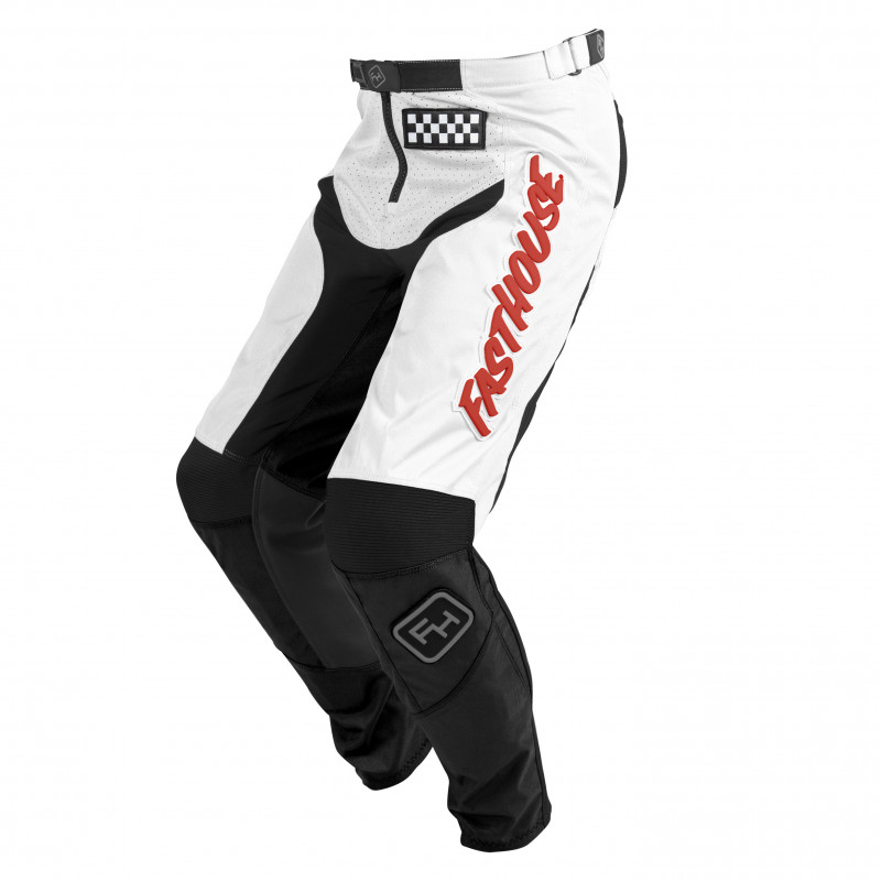 FASTHOUSE PANTS GRINDHOUSE WHITE/RED