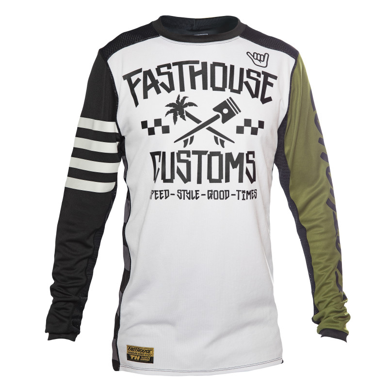 FASTHOUSE JERSEY HAWK OLIVE