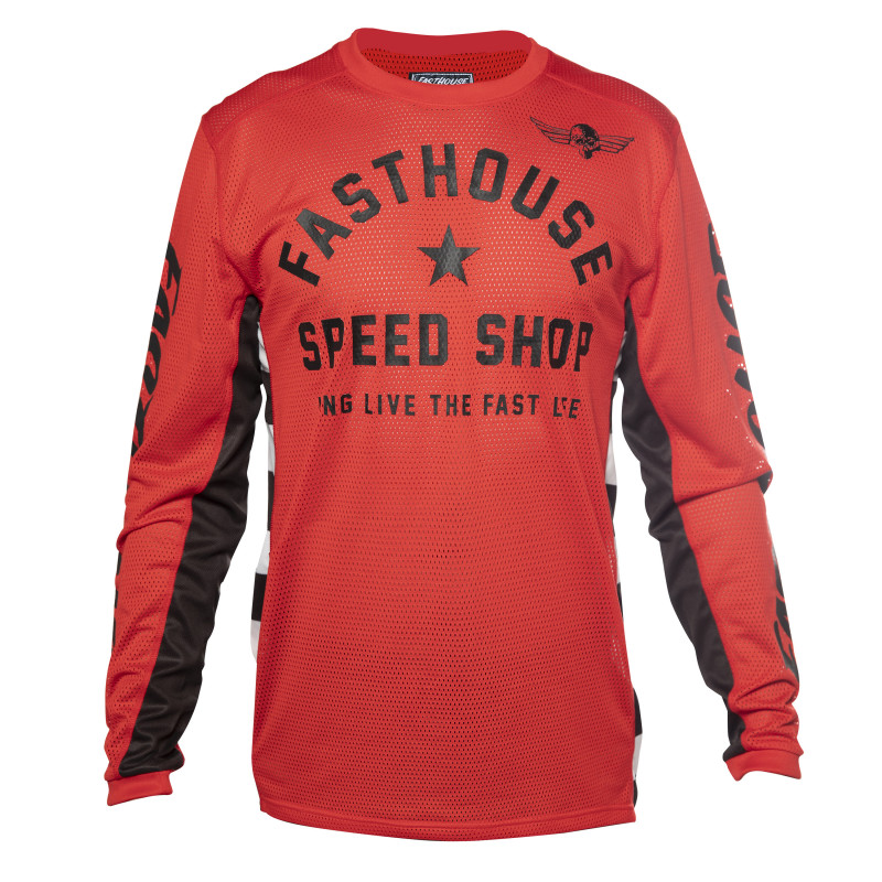 FASTHOUSE JERSEY ORIGINALS AIR-COOLED RED