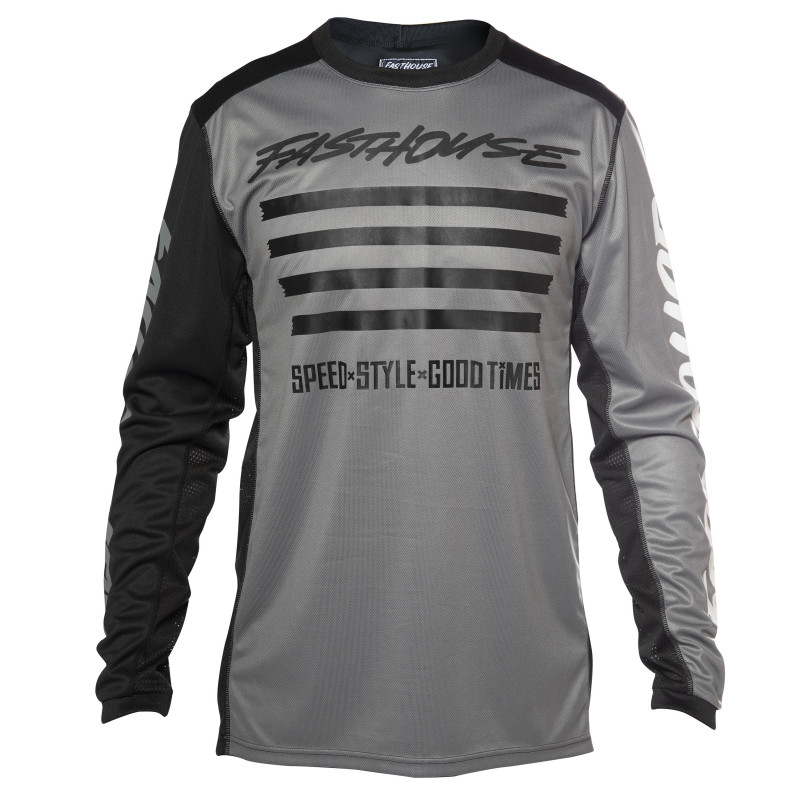 FASTHOUSE JERSEY SLASH GREY/WHITE