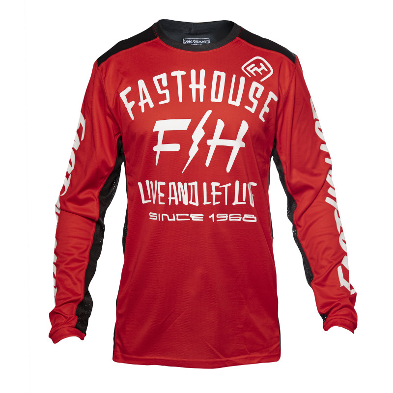 FASTHOUSE JERSEY DICKSON RED