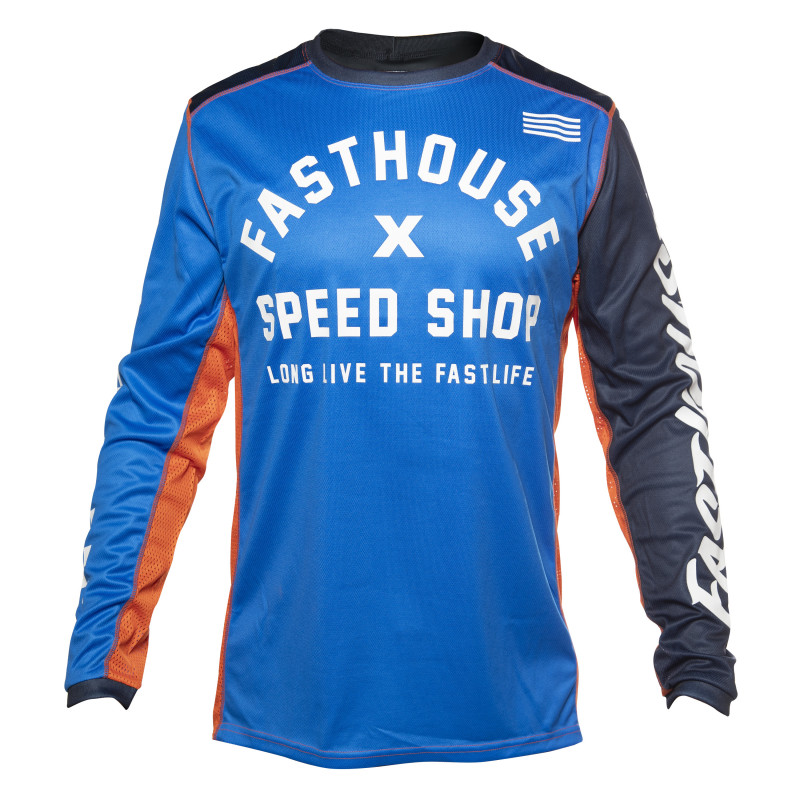 FASTHOUSE JERSEY HERITAGE BLUE
