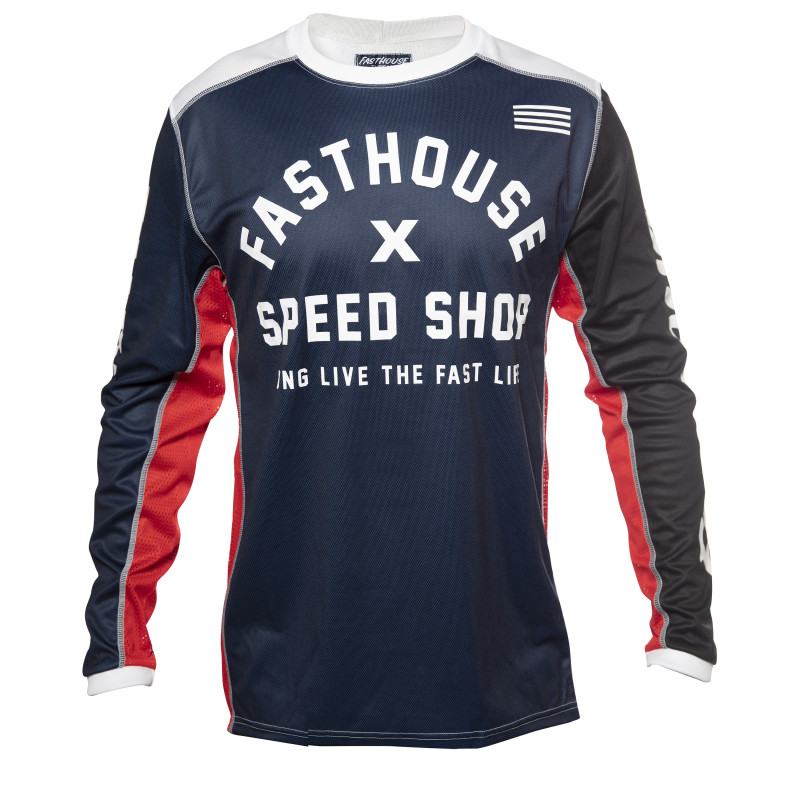 FASTHOUSE JERSEY HERITAGE NAVY
