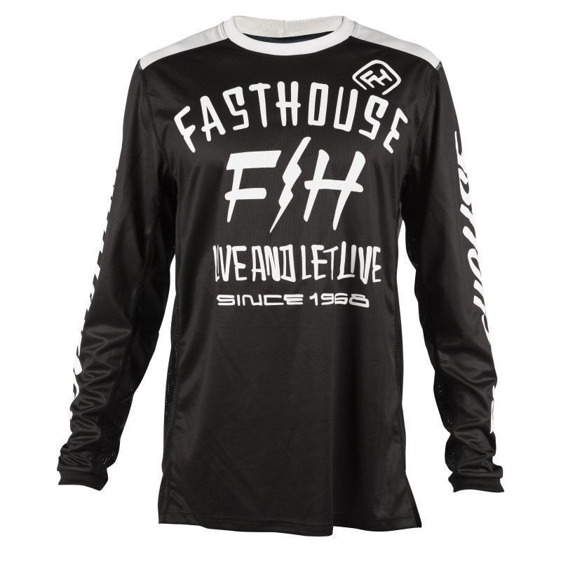 FASTHOUSE JERSEY DICKSON BLACK YOUTH