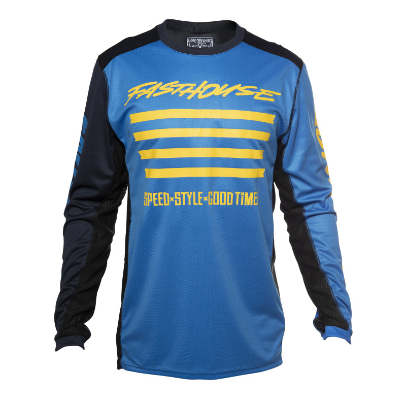 FASTHOUSE JERSEY SLASH BLUE YOUTH