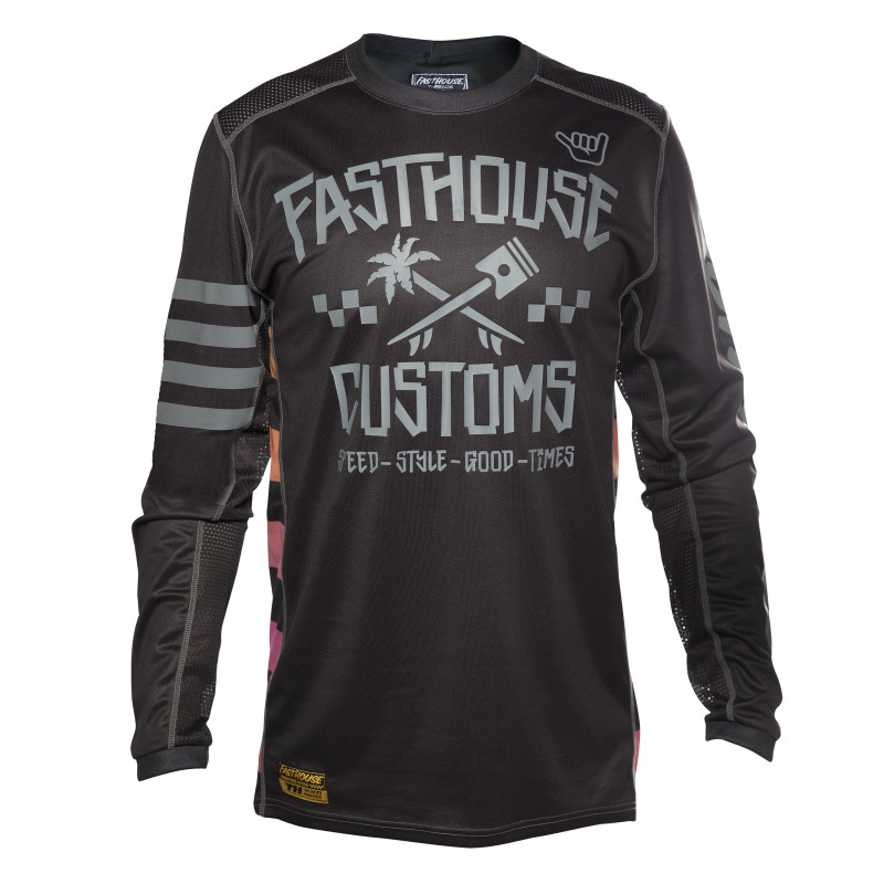 FASTHOUSE JERSEY HAWK BLACK YOUTH